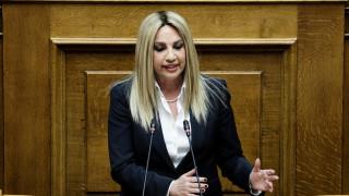 Διμέτωπη επίθεση Γεννηματά σε ΣΥΡΙΖΑ και ΝΔ