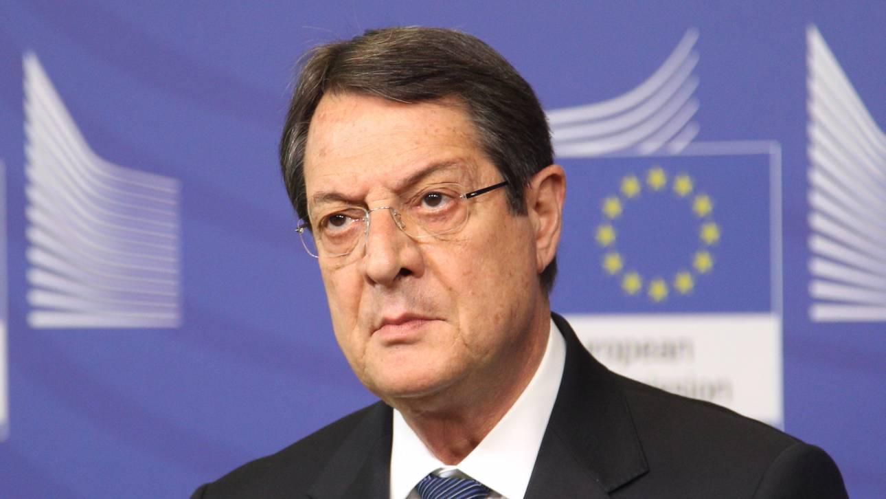 Διάβημα Αναστασιάδη στη Μέι για τη βρετανική αμφισβήτηση της κυπριακής ΑΟΖ