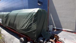 Μετρό Θεσσαλονίκης: Έφτασε στην πόλη ο πρώτος συρμός του Μετρό