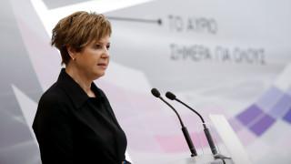 Γεροβασίλη: Η δημοκρατία δεν απειλείται, δεν εκβιάζεται και συνεχίζει
