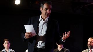 Ευρωεκλογές 2019: «Θα αυξήσουμε το εισόδημα των εργαζομένων», είπε ο Μητσοτάκης