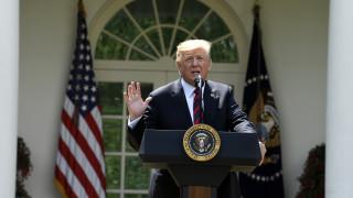 Τραμπ: Ελπίζω ότι δεν θα πάμε σε πόλεμο με το Ιράν