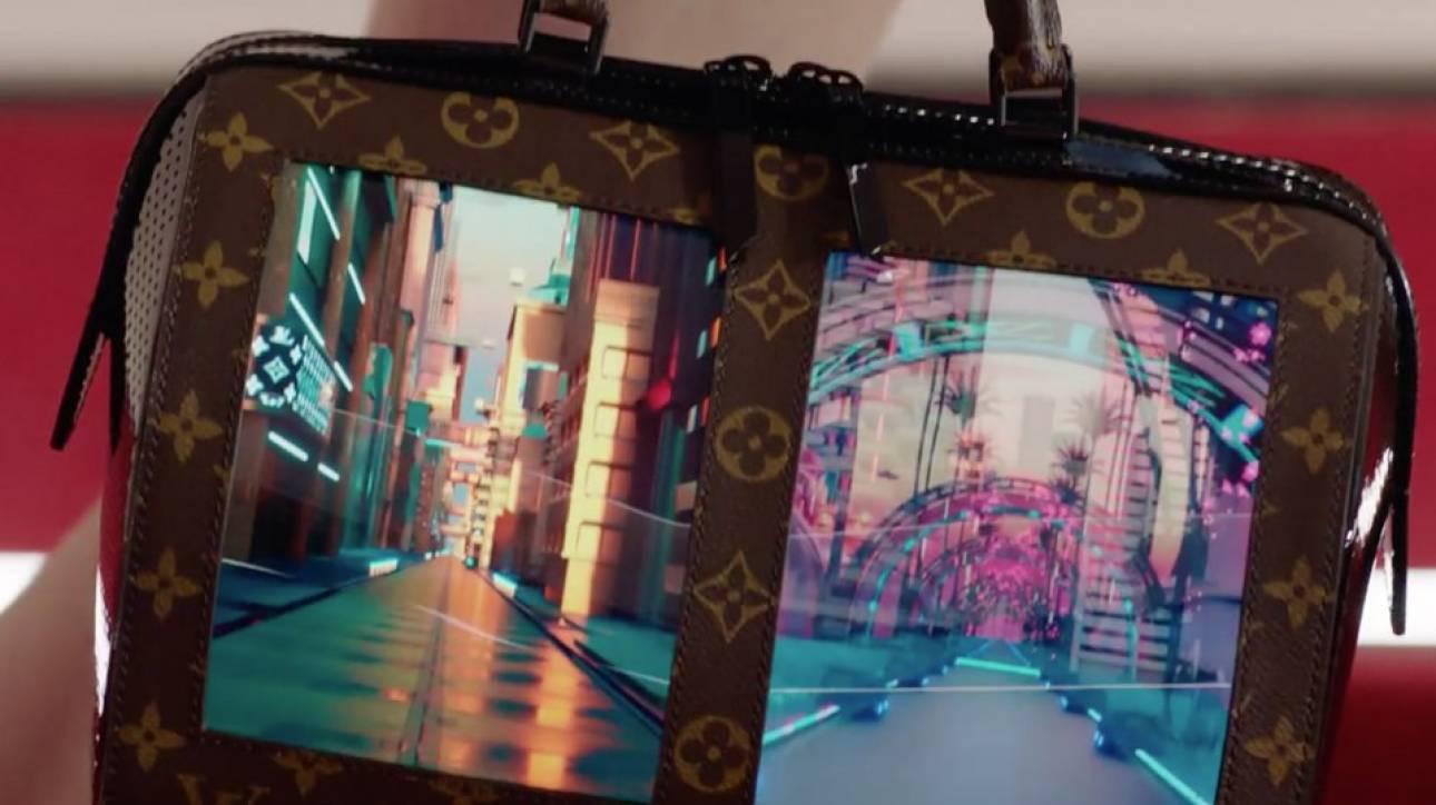 Οι εντυπωσιακές «έξυπνες» τσάντες OLED του Louis Vuitton