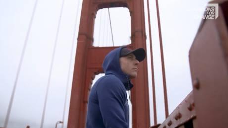 Έπεσε από τη γέφυρα Golden Gate κι έζησε: Ένας παρ'ολίγον αυτόχειρας δίνει μάχη κατά των αυτοκτονιών