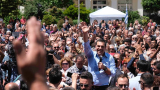 Τσίπρας από Καρδίτσα: Η 26η Μαΐου θα είναι η αρχή για τη μεγάλη νικηφόρα πορεία