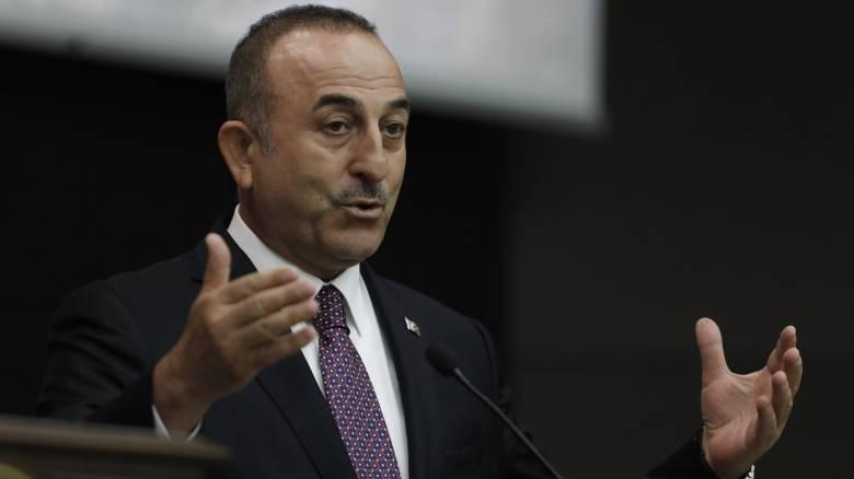 Τσαβούσογλου σε Ε.Ε. και Ηνωμένα Έθνη: Εντός τουρκικής υφαλοκρηπίδας ο «Πορθητής»