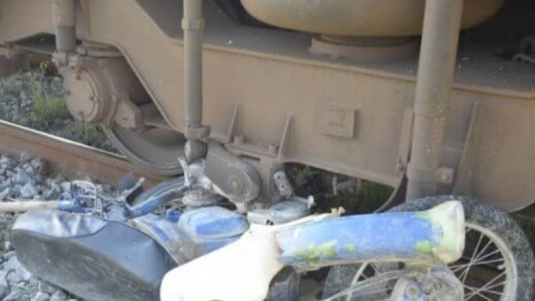 Τραγωδία στην Ημαθία: Νεκρός οδηγός μηχανής που παρασύρθηκε από τρένο