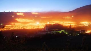 Γιατί οι Ιταλοί βάζουν φωτιές στους αμπελώνες τους; (pics)