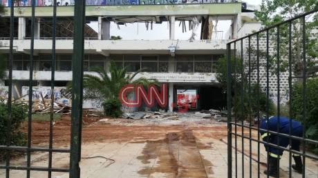 Νέα Σμύρνη: Φωτιά στο κλειστό γήπεδο του Πανιωνίου