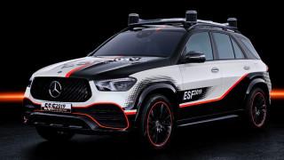 Η πειραματική Mercedes GLE ESF διαθέτει ήδη όλες τις μελλοντικές τεχνολογίες