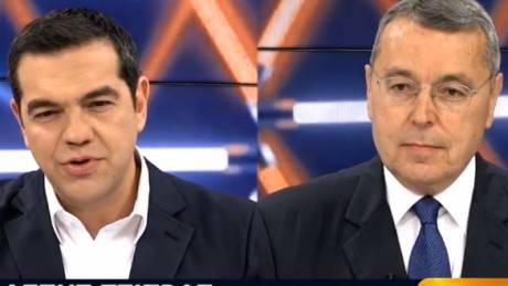 LIVE o Αλέξης Τσίπρας στο Kontra Channel