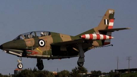 Aνατροπή αεροσκάφους της Αεροπορίας Στρατού κατά την προσγείωση