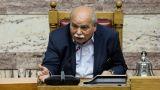 Επίθεση στη Βουλή: «Απαράδεκτη και άκρως αντιδημοκρατική» τη χαρακτηρίζει ο Νίκος Βούτσης