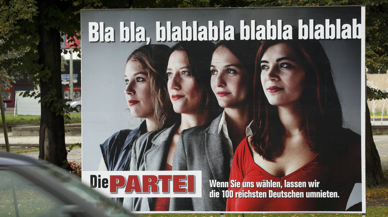 Γερμανία: Σατιρικό κόμμα κατεβαίνει στις ευρωεκλογές με ονόματα στελεχών των Ναζί