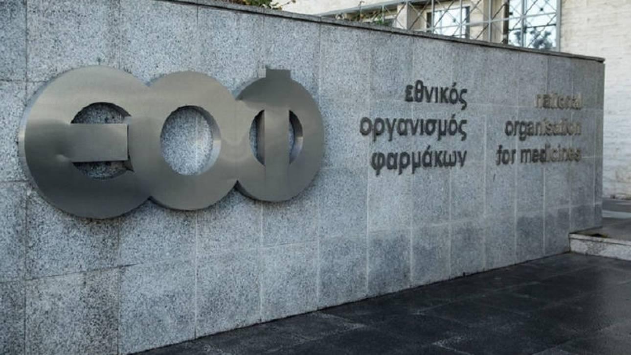 ΕΟΦ: Ανακαλούνται παρτίδες γνωστού βλεννολυτικού