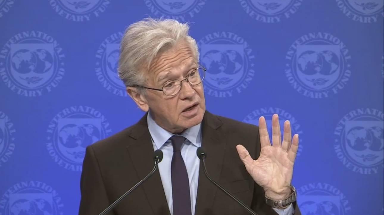 Ράις: Το ΔΝΤ στην εμπροσθοφυλακή όσων ζητούσαν την ελάφρυνση του ελληνικού χρέους