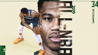 Ο Γιάννης Αντετοκούνμπο στην κορυφαία πεντάδα του NBA