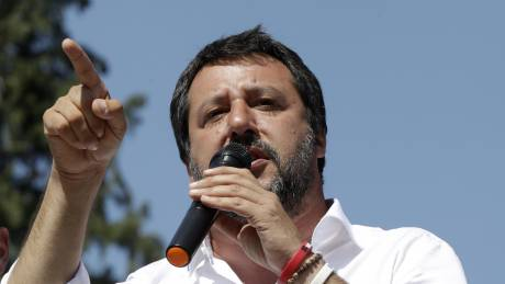 Αντιδράσεις για την παρουσία Σαλβίνι στις εκδηλώσεις για την εκτέλεση δικαστή από τη μαφία