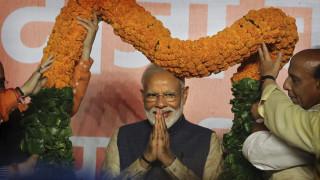 Ινδία: Σαρωτική νίκη του Μόντι στις εκλογές