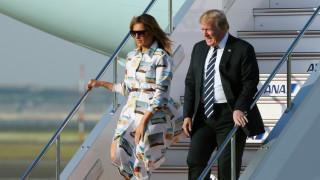 Το φόρεμα της Μελάνια Τραμπ, φόρος τιμής στην αμερικανική κουλτούρα, που έκλεψε τις εντυπώσεις