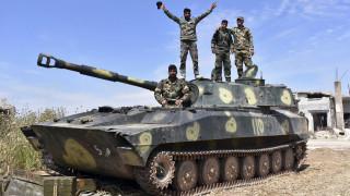 Η Τουρκία εξοπλίζει Σύρους αντάρτες για να απωθήσουν τις δυνάμεις του Άσαντ