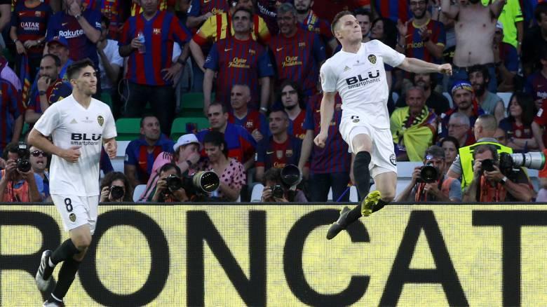 Έκανε την έκπληξη η Βαλένθια κόντρα στην Μπαρτσελόνα και κατέκτησε το Copa Del Rey