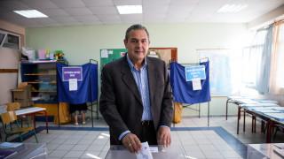 Εκλογές 2019: «Θα οδηγηθούμε πολύ γρήγορα σε εθνικές εκλογές», εκτιμά ο Καμμένος