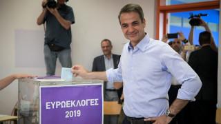 Εκλογές 2019: «Αύριο θα ξημερώσει μια φωτεινή μέρα για την πατρίδα» υποστήριξε ο Μητσοτάκης
