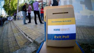 Exit poll: Προβάδισμα της Νέας Δημοκρατίας