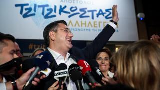 Αποτελέσματα εκλογών 2019 - Τζιτζικώστας: Θα είμαι περιφερειάρχης όλων των Μακεδόνων