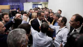 Αποτελέσματα εκλογών 2019: Σαρωτική νίκη της Νέας Δημοκρατίας στις ευρωεκλογές
