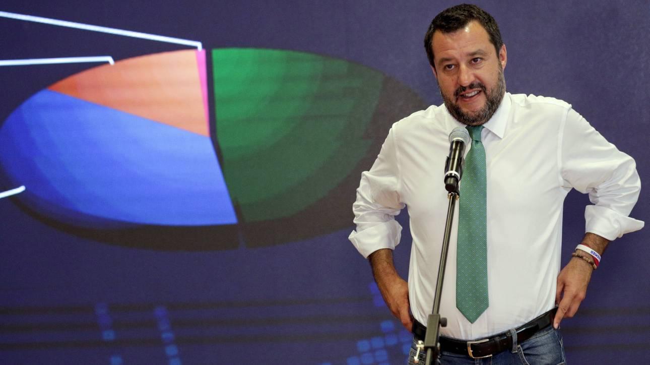 Ευρωεκλογές 2019 - Σαλβίνι: Η νίκη μας είναι εντολή για αλλαγή των δημοσιονομικών κανόνων της ΕΕ