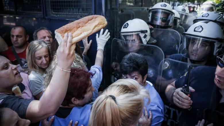 Ένταση μεταξύ αστυνομικών και καθαριστριών στο «Δρομοκαΐτειο»