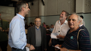 Με τον Γερουλάνο συναντήθηκε ο Μπακογιάννης - Τι συζήτησαν