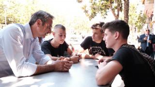 Μητσοτάκης στο Αιγάλεω: Η ΝΔ είναι το κόμμα των νέων - Θα είμαστε πρώτοι και στα Δυτικά