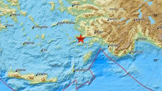 Σεισμός κοντά στην Κω - Αισθητός σε αρκετές περιοχές