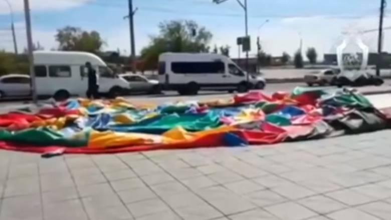 Τρομακτικό ατύχημα στη Ρωσία: Φουσκωτό κάστρο σηκώθηκε στον αέρα  - Παιδιά τραυματίστηκαν σοβαρά