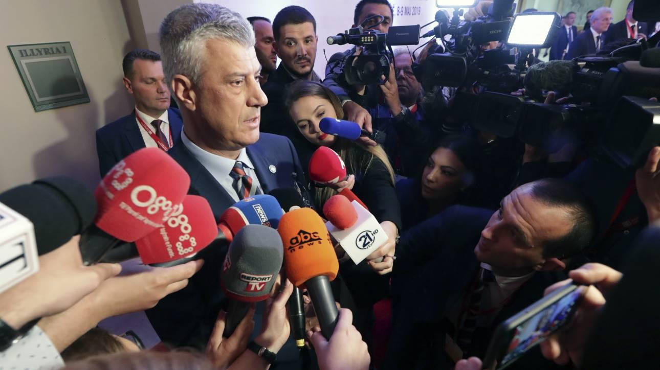 Κόσοβο: Ανοιχτό το ενδεχόμενο διεξαγωγής δημοψηφίσματος για ένωση με την Αλβανία