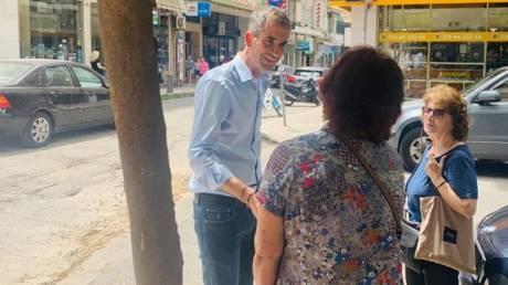 Δημοτικές εκλογές 2019: Ολοκλήρωσε την περιοδεία του στην Αθήνα ο Μπακογιάννης