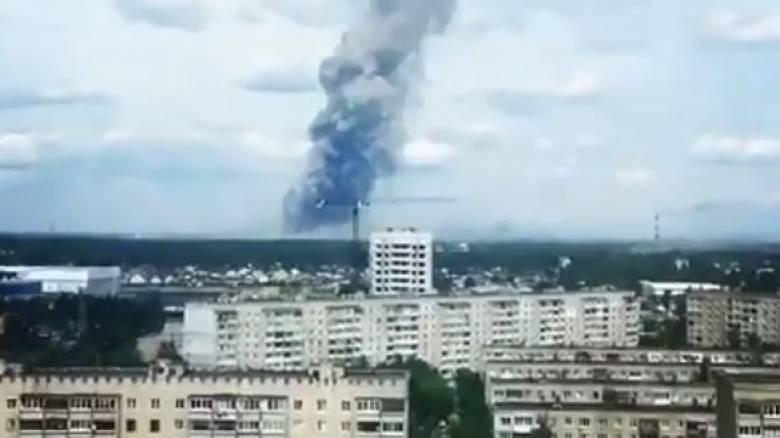 Ρωσία: Δεκάδες τραυματίες από την έκρηξη σε εργοστάσιο παραγωγής εκρηκτικών
