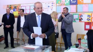 Εκλογές 2019: Επευφημίες και χειροκροτήματα για τον Κώστα Καραμανλή στη Θεσσαλονίκη