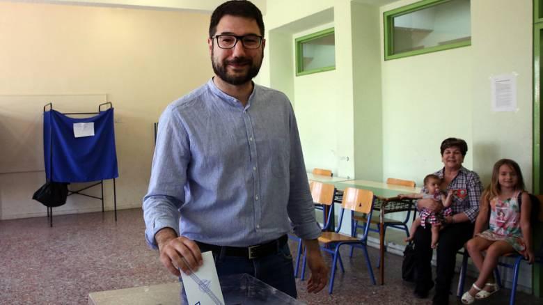 Εκλογές 2019: «Ελπίζουμε σε μεγαλύτερη συμμετοχή» δήλωσε ο Νάσος Ηλιόπουλος