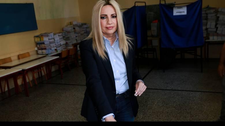 Γεννηματά: Δεν έβαλα τον Βενιζέλο στο Επικρατείας για να ανοίξουμε την πόρτα στους προοδευτικούς