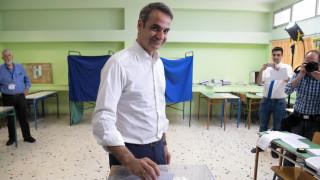 Εκλογές 2019: Κάλεσμα Μητσοτάκη στους πολίτες να προσέλθουν στις κάλπες