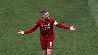 Champions League: Μια συγκινητική στιγμή για τον Τζόρνταν Χέντερσον μετά τη νίκη της Λίβερπουλ