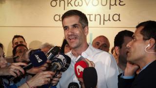 Αποτέλεσμα εκλογών 2019 - Μπακογιάννης: Όλοι μαζί να σηκώσουμε την Αθήνα ψηλά