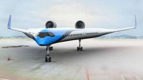 «Ιπτάμενο V»: Το αεροσκάφος χωρίς άτρακτο υπόσχεται να αλλάξει το μέλλον της αεροπορίας