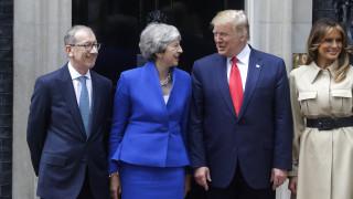 Τραμπ: Τι είπε για την Ελισάβετ, το Brexit, τους διαδόχους της Μέι και τις διαδηλώσεις που δεν είδε