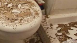 Ιωάννινα: Φοιτήτρια έκανε μπάνιο και της έπεσε το ταβάνι στο κεφάλι