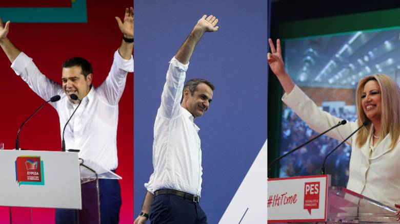 Εκλογές 2019:Οι «δεξαμενές» των ψηφοφόρων και τα σχέδια ΣΥΡΙΖΑ, ΝΔ και ΚΙΝΑΛ για την προσέλκυσή τους